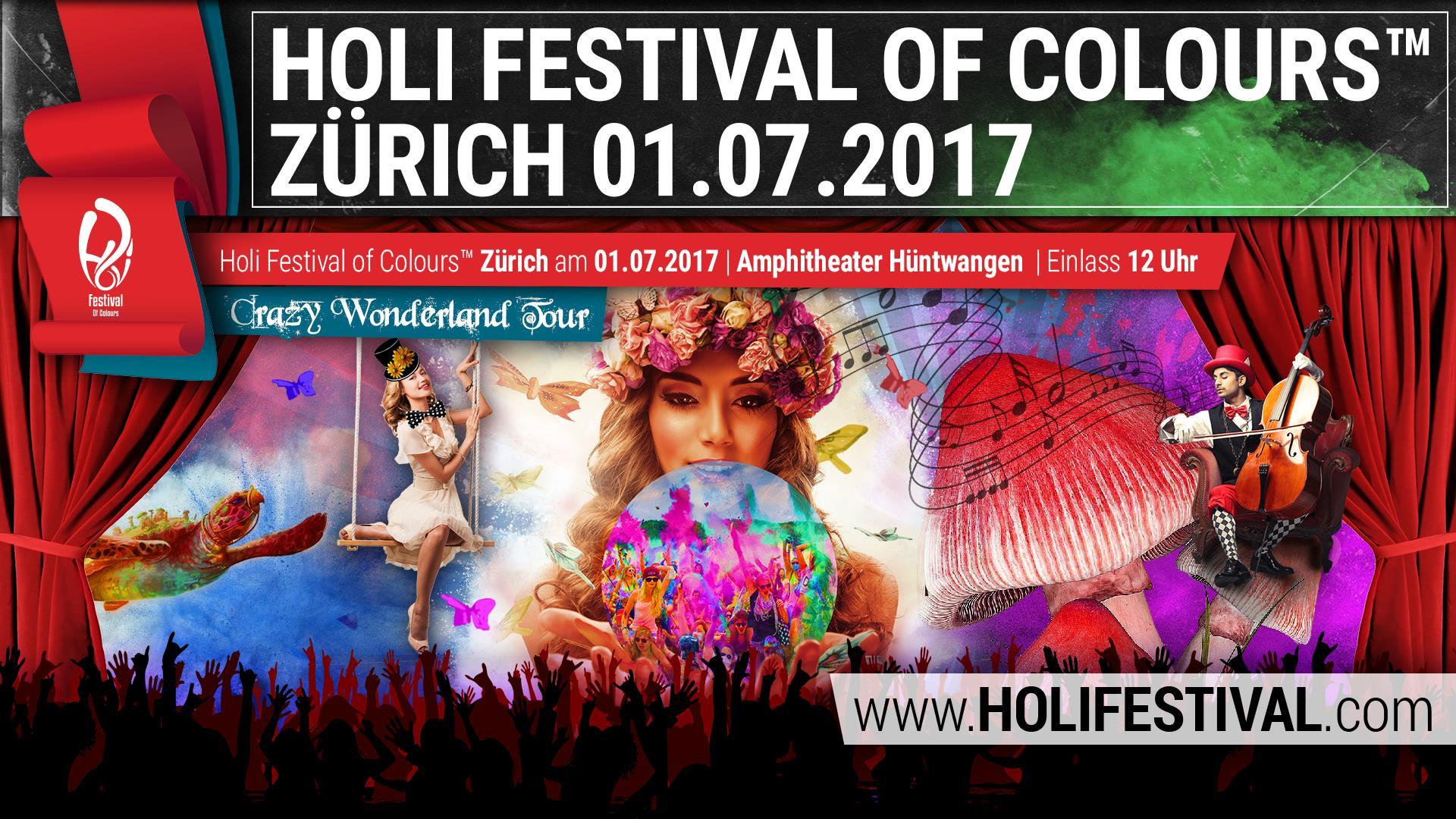 Das bunte Holi Festival kehrt zurück