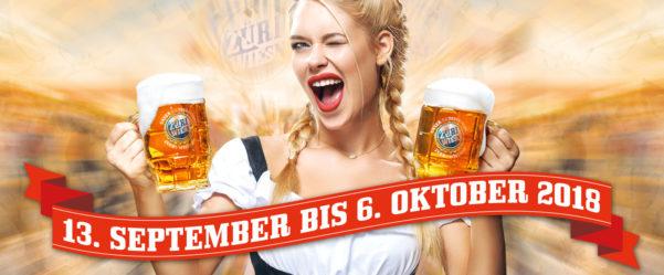 Züri-Wiesn – Unser Oktoberfest im Hauptbahnhof!