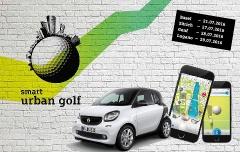 smart urban golf - Golfe quer durch die Stadt!