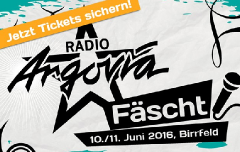 Radio Argovia Fäscht 2016: The Line Up!
