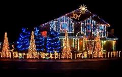 Die etwas andere Weihnachtsbeleuchtung